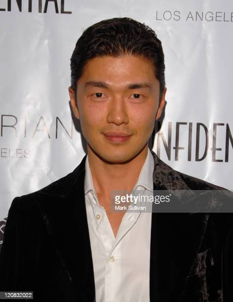 Rick Yune during Los Angeles Confidential Magazine in Association with Morgans Hotel Group Celebrates the 2007 Oscars with Forest Whitaker Rob Clark...