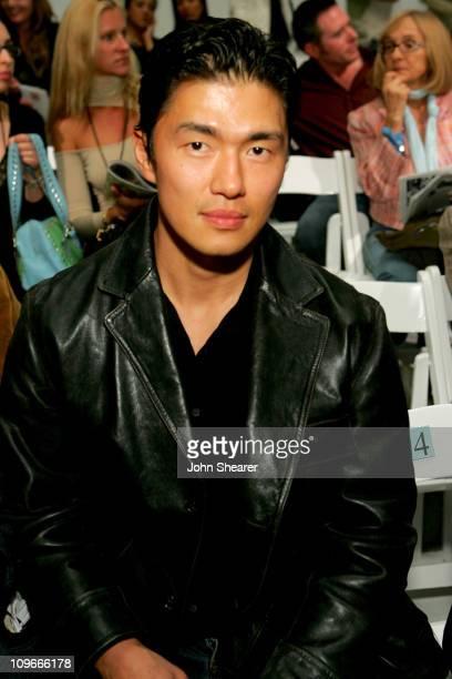 Rick Yune during MercedesBenz Spring 2006 LA Fashion Week at Smashbox Studios Coco Kliks Front Row at Smashbox Studios in Culver City California...