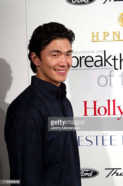 Rick Yune during Movieline's Hollywood Life's 3rd Annual Breakthrough of the Year Award at The Highlands Club in Los Angeles California United States