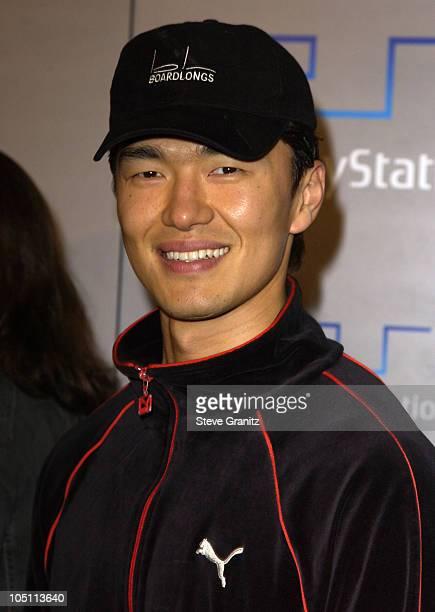 Rick Yune during Playstation 2 Playa Del Playstation Party at Viceroy Hotel in Santa Monica California United States