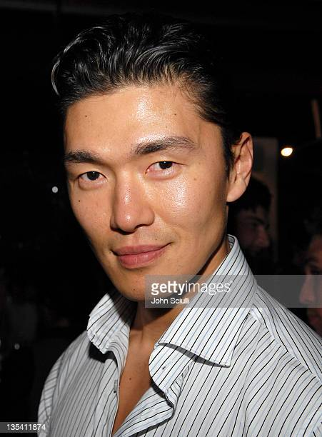 Rick Yune during Smashbox Cosmetics Celebrate the Holidays and Brent Bolthouse's Birthday at Area in Los Angeles California United States