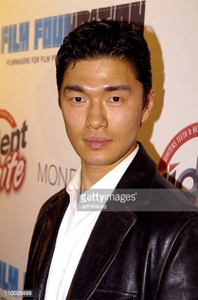 Rick Yune during Trident White Presents Black and White Party Hosted by McG and Stephanie Savage Benefitting Martin Scorsese's Film Foundation...