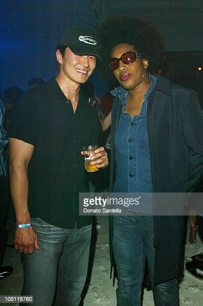 Rick Yune Macy Gray during Maxim Magazine Annual Hot 100 Party Inside at SoHo in Hollywood California United States