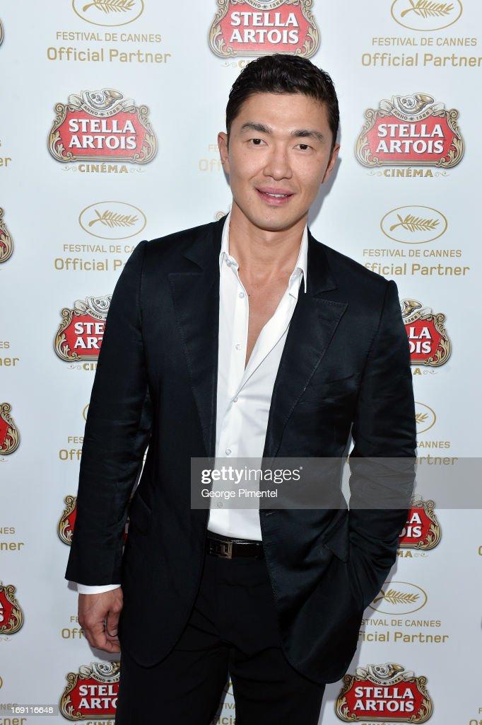 Rick Yune Visits Stella Artois Suite - The 66th Annual Cannes Film Festival : Fotografía de noticias