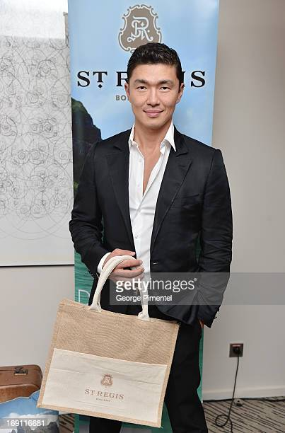 Rick Yune Visits Stella Artois Suite duing The 66th Annual Cannes Film Festival at Radisson Blu on May 20 2013 in Cannes France