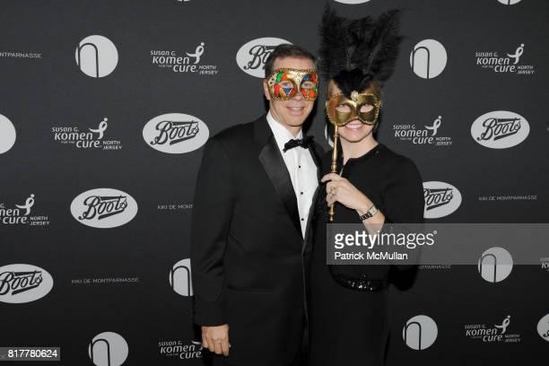 Rick Ziwot and Susan Ziwot attend VIP MASKED BALL for Susan G Komen Headlined by Sir Richard Branson Katie Couric Cornelia Guest HM Queen Noor and...