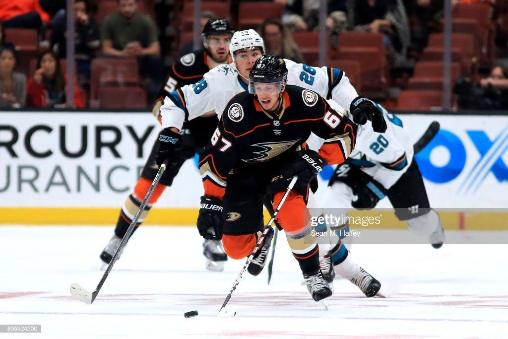 San Jose Sharks v Anaheim Ducks : News Photo