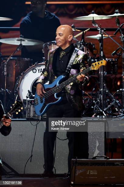 Rickey Minor performs onstage during the 62nd Annual GRAMMY Awards at STAPLES Center on January 26 2020 in Los Angeles California