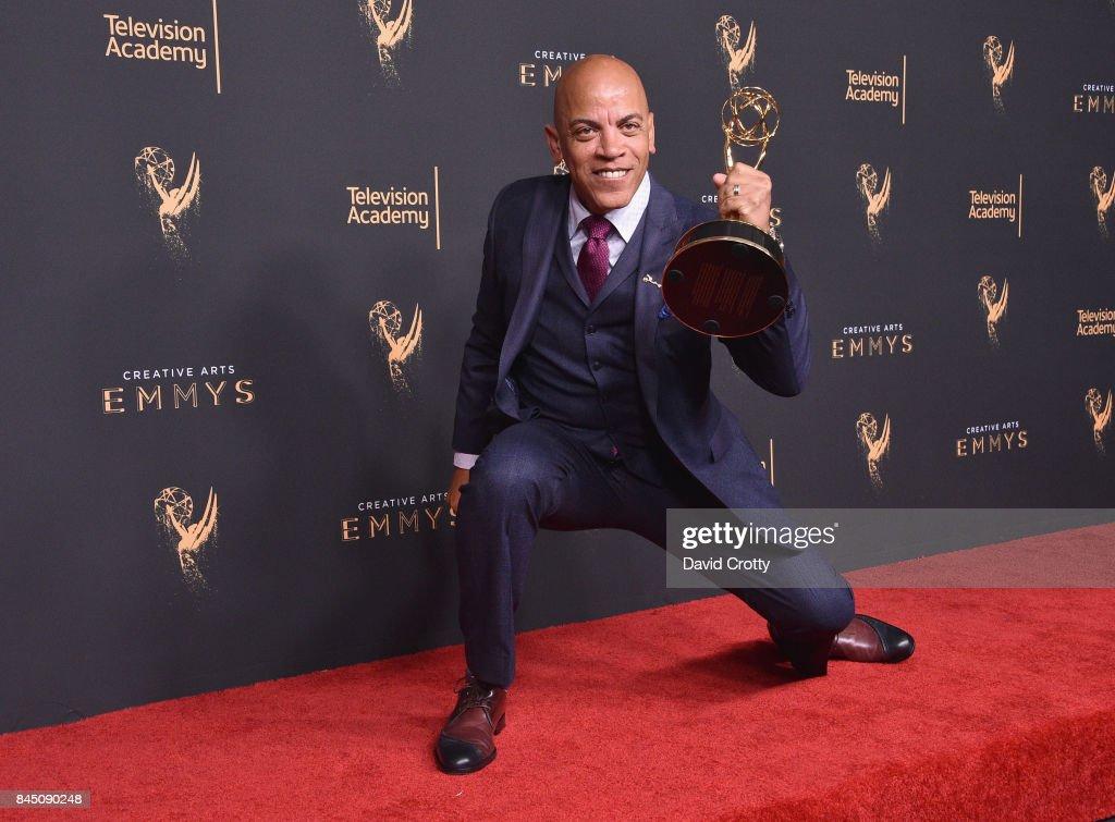 2017 Creative Arts Emmy Awards - Day 1 - Press Room : News Photo