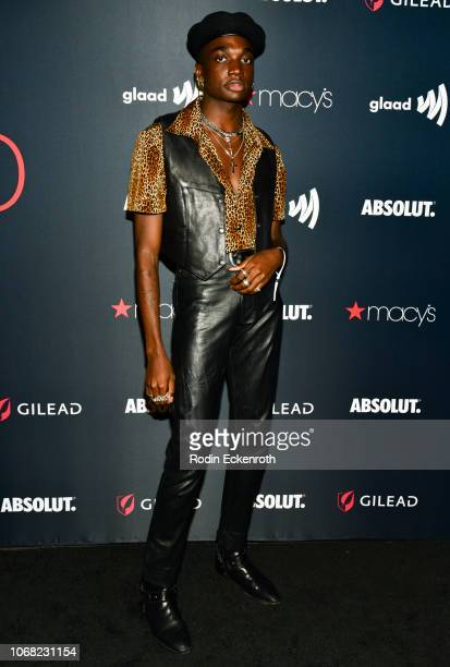 Rickey Thompson attends Out Magazine's OUT100 Awards Celebration Presented By Lexus at Quixote Studios on November 15 2018 in Los Angeles California