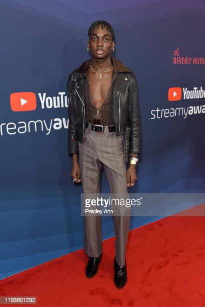 Rickey Thompson attends The 9th Annual Streamy Awards on December 13 2019 in Los Angeles California