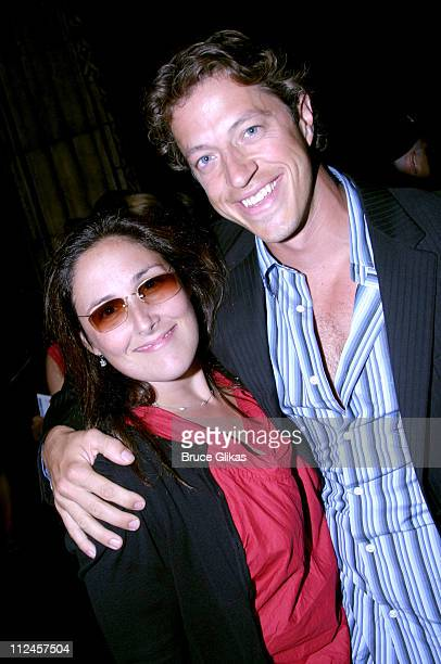 """Ricki Lake and boyfriend Apolo Yiamouyiannis during """"Hairspray"""" Opening Night Los Angeles - Arrivals at Pantages Theater in Hollywood, California,..."""