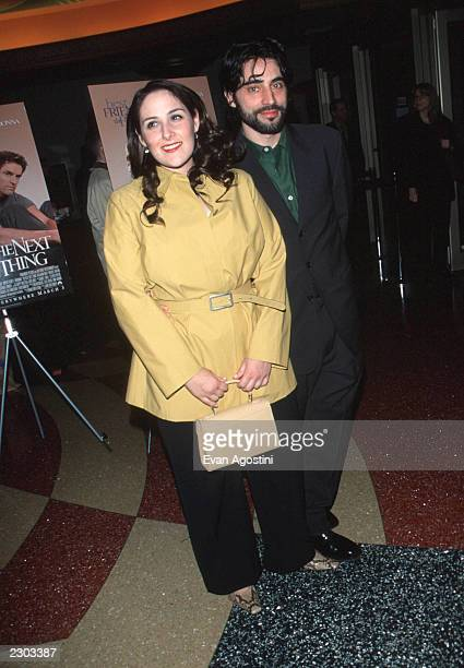 Ricki Lake and husband Rob Sussman at the world premiere screening of 'The Next Best Thing' 2/29/00 New York City NY Photo Evan Agostini/ImageDirect