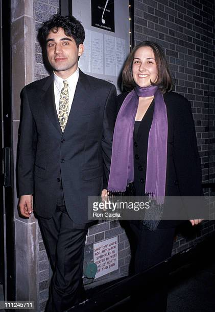 Ricki Lake and Rob Sussman during After Party for the Premiere of Serial Mom at Sette Restaurant in New York City New York United States