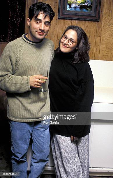 Ricki Lake and Rob Sussman during Opening Night of Abe Lincoln In Illinois at Vivian Beaumont Theater in New York City New York United States