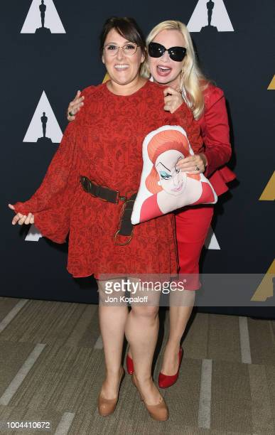 Ricki Lake and Traci Lords attend The Academy Presents 'Hairspray' 30th Anniversary at Samuel Goldwyn Theater on July 23 2018 in Beverly Hills...