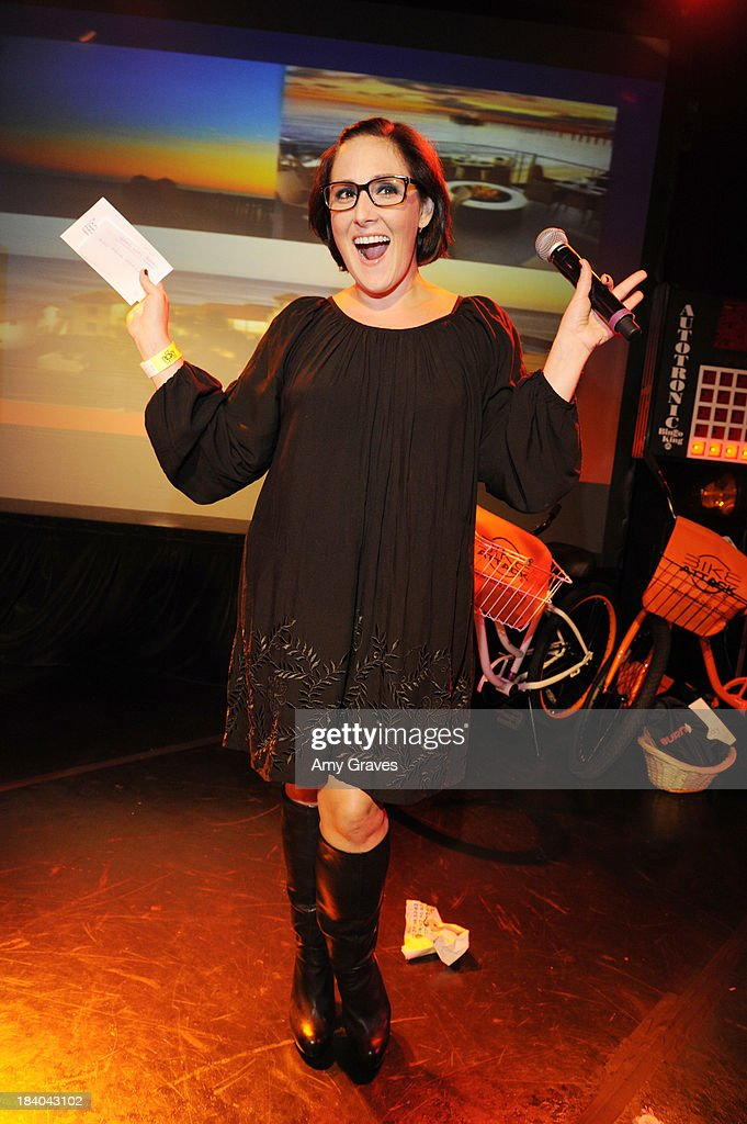 Ricki Lake attends Bingo At The Roxy to Benefit The Painted Turtle at The Roxy Theatre on October 10, 2013 in West Hollywood, California.