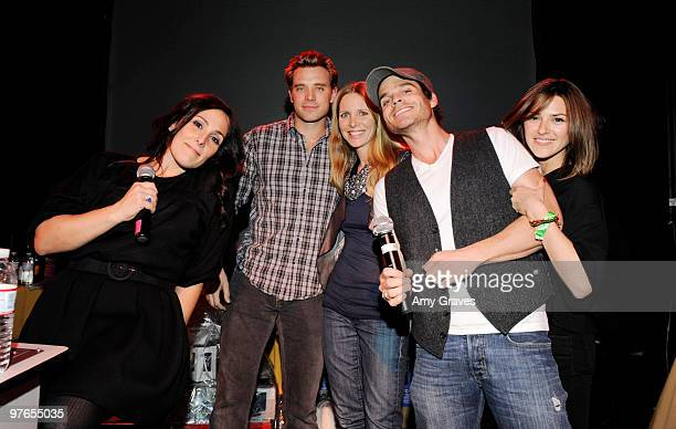 Ricki Lake, Billy Miller, Elizabeth Hendrickson and Greg Rikaart attend the Painted Turtle 7th Annual Bingo Night at the Roxy at The Roxy Theatre on...
