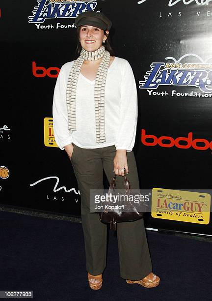 Ricki Lake during The 3rd Annual Lakers Casino Night Arrivals at Barker Hangar in Santa Monica California United States