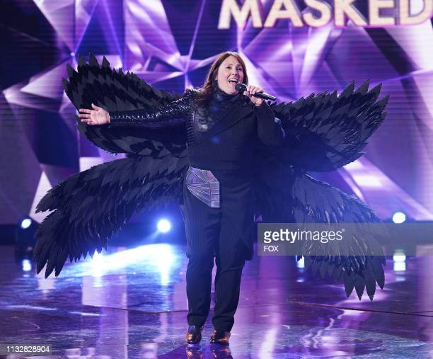 Ricki Lake in the Touchy Feely Clues episode of THE MASKED SINGER airing Wednesday Feb 6 on FOX
