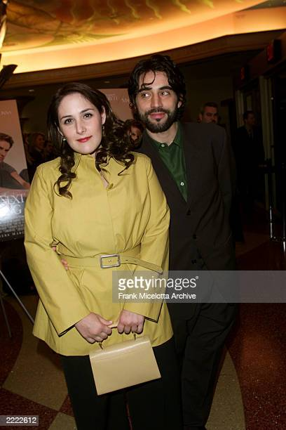 Ricki Lake with her husband Rob Sussman at 'The Next Best Thing' permiere in New York City NY on Febuary 29 2000 Photo by Frank Micelotta/Getty Images