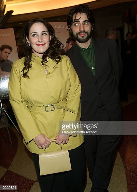 Ricki Lake with her husband Rob Sussman at 'The Next Best Thing' premiere in New York City NY on Febuary 29 2000 Photo by Frank Micelotta/Getty Images
