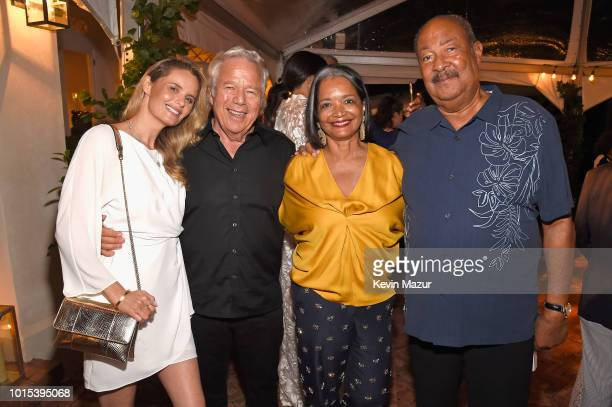Ricki Noel Lander Robert Kraft Jonelle Procope and Richard Parsons attend Apollo in the Hamptons 2018 Hosted by Ronald O Perelman at The Creeks on...