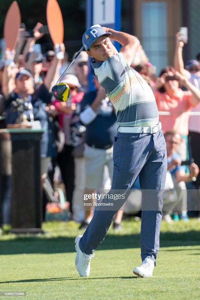GOLF: JAN 24 PGA - Farmers Insurance Open : News Photo