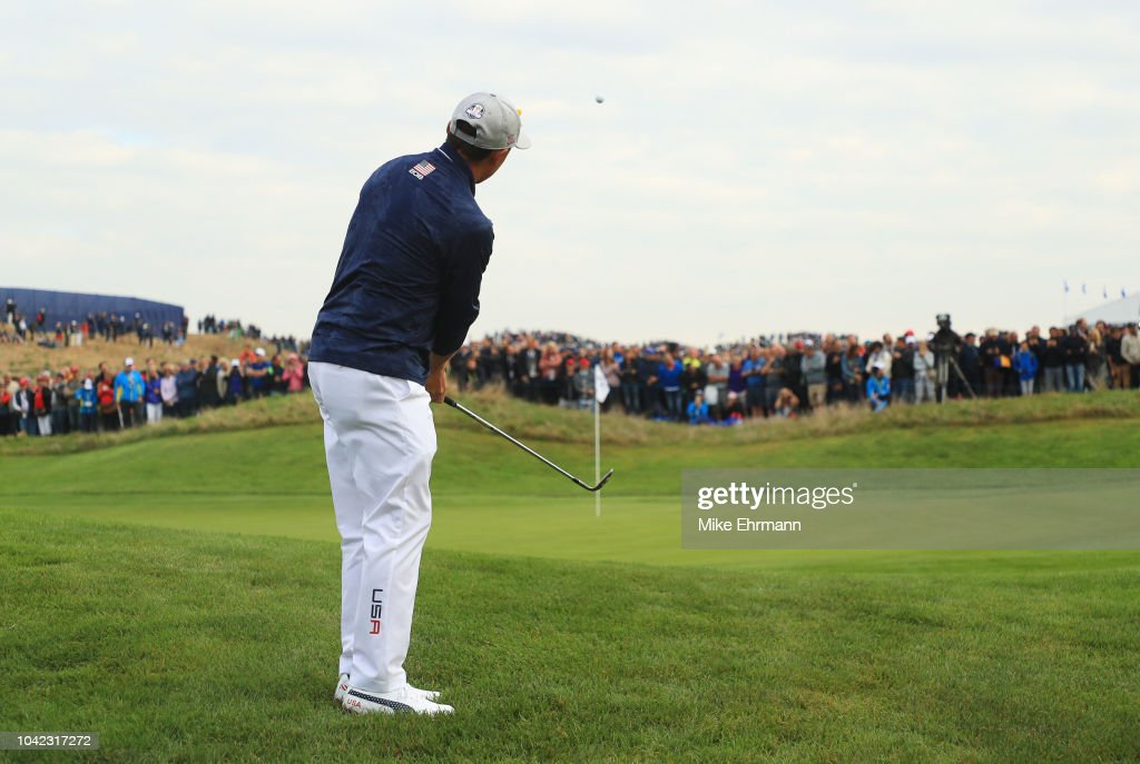 2018 Ryder Cup - Morning Fourball Matches : ニュース写真