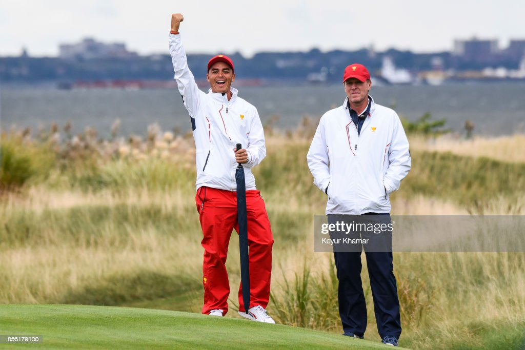 Presidents Cup - Round Three : News Photo