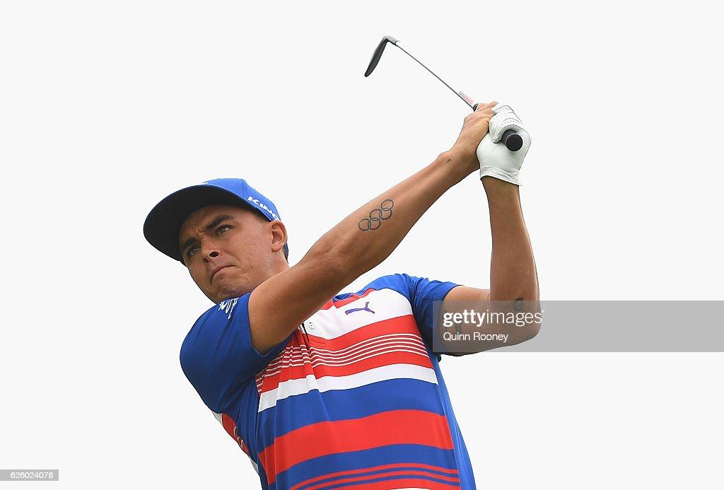 ISPS Handa World Cup of Golf - Day 4 : News Photo