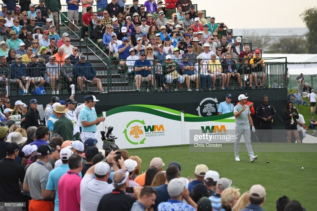 Waste Management Phoenix Open - Round Two : News Photo