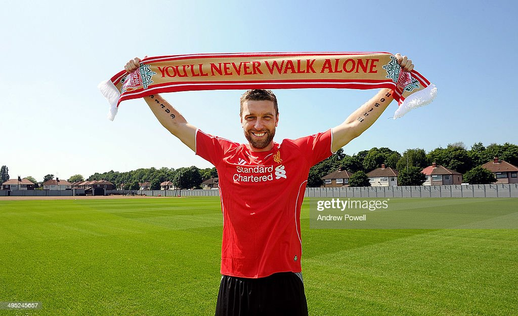Liverpool Sign Rickie Lambert : News Photo