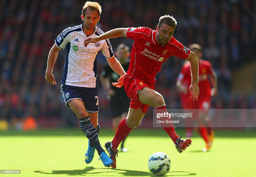Liverpool v West Bromwich Albion - Premier League : News Photo