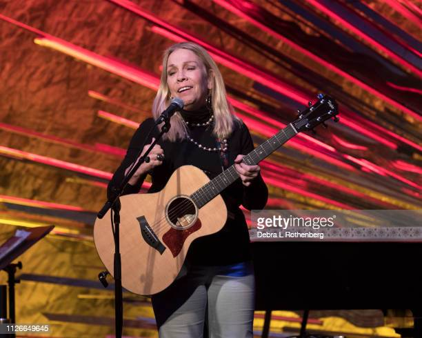 Rickie Lee Jones performs live in concert at Sony Hall on February 21 2019 in New York City