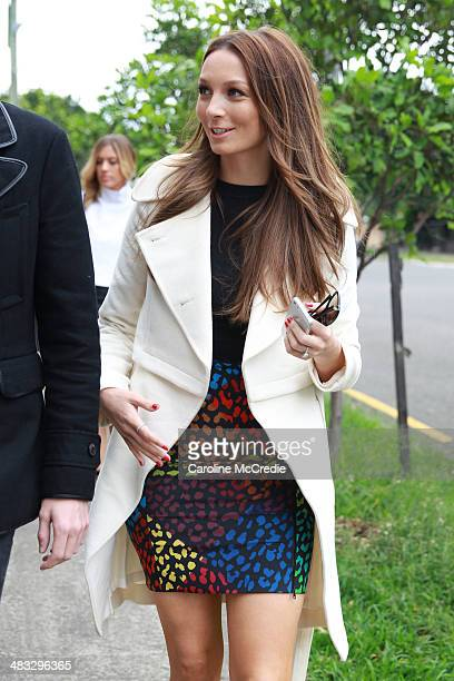 RickiLee Coulter attends the Ginger Smart show at MercedesBenz Fashion Week Australia 2014 at Level 1 55 Mentmore Ave Rosebery on April 8 2014 in...