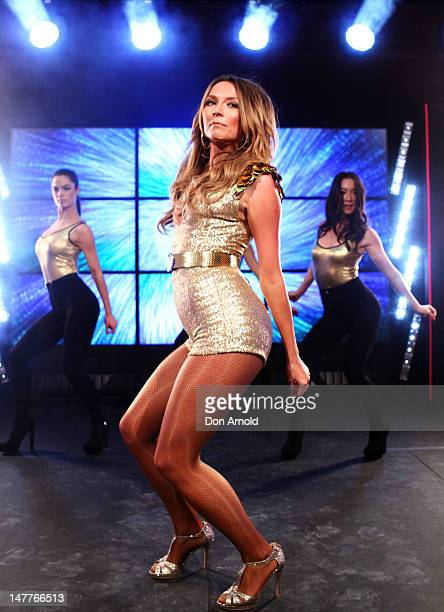 RickiLee Coulter performs during a Covergirl campaign launch at Museum of Contemporary Art on July 3 2012 in Sydney Australia