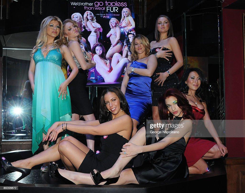 Ricks Cabaret Girls Pamela, Avalon, Jane, Erica, Alicia, Shaleen And News Photo -2702