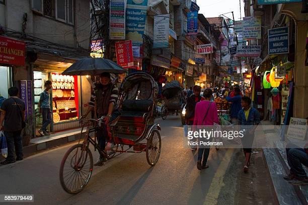 Ricksha in Thamel, Kathmandu