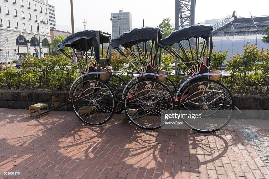 Rickshaw in Japan : Stock Photo