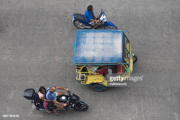 Rickshaw in the Philippines