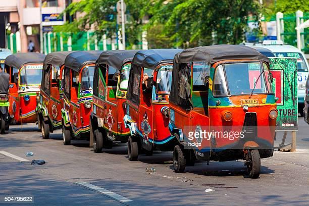 人力車のジャカルタ,インドネシア