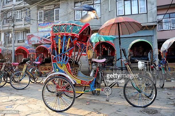 rickshaws - rickshaw stock pictures, royalty-free photos & images