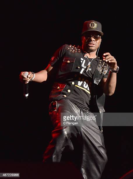 Ricky Bell of Bell Biv Devoe performs during KBLX Hot Summer Night at Concord Pavilion on September 6 2015 in Concord California
