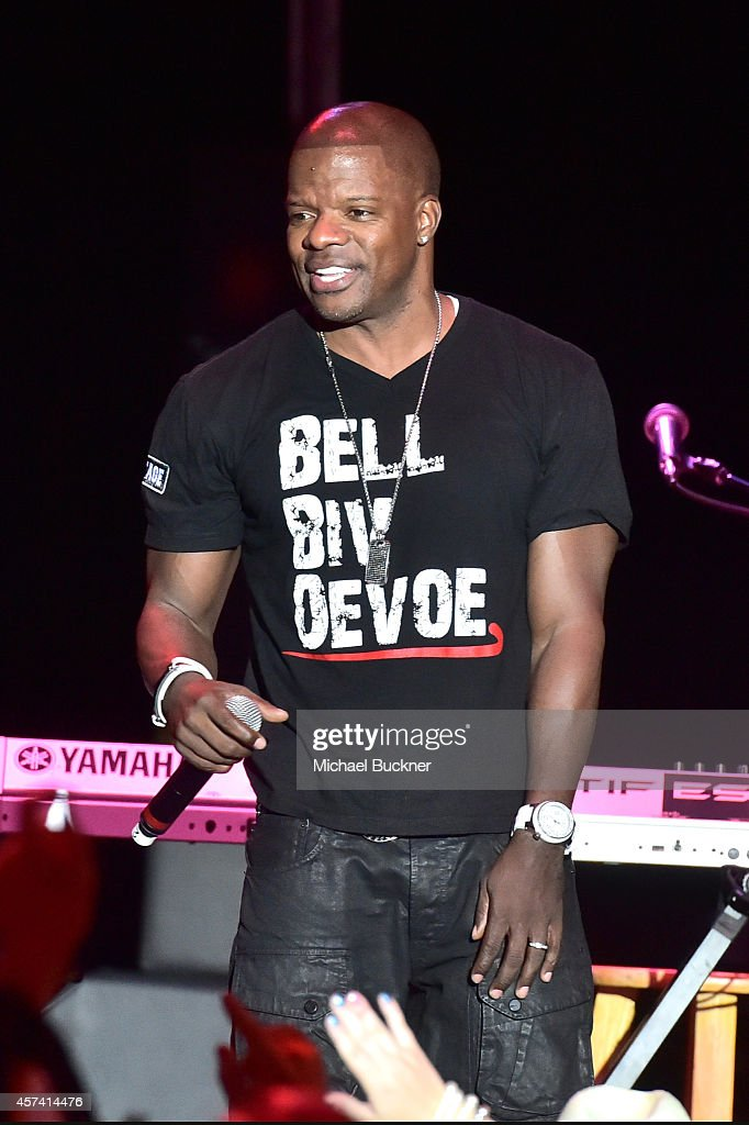Ricky Bell of Bell Biv DeVoe performs onstage during the 3rd Annual Hilarity for Charity Variety Show to benefit the Alzheimer's Association, presented by Genworth, at Hollywood Palladium on October 17, 2014 in Hollywood, California.