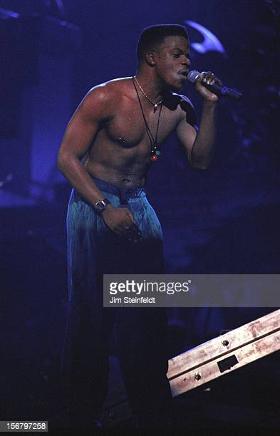 Ricky Bell performs at the Met Center in Bloomington Minnesota on March 26 1991