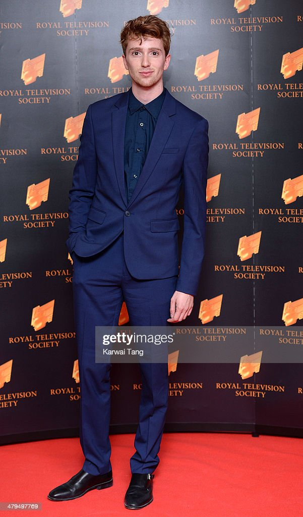 Ricky Boleto attends the RTS programme awards at Grosvenor House, on March 18, 2014 in London, England.
