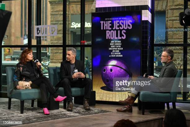 Ricky Camilleri interviews writer/director John Turturro and Susan Sarandon during their visit to the Build Series to discuss The Jesus Rolls at...