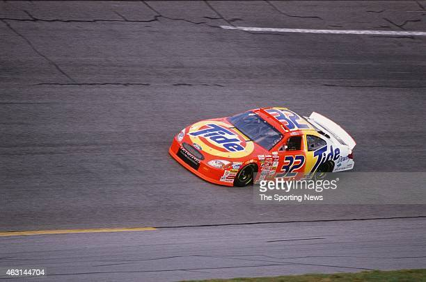 Ricky Craven drives his car during practice for the Daytona 500 at the Daytona International Speedway on February 17 2001 in Daytona Beach Florida