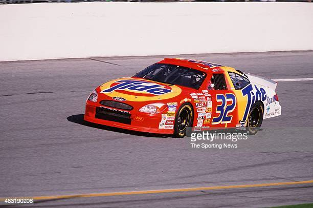 Ricky Craven drives his car during the Daytona 500 at the Daytona International Speedway on February 16 2001 in Daytona Beach Florida